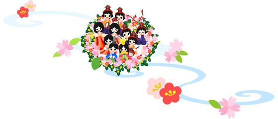 "Girls' Festival ""Nagashibina(Floating doll)"""