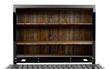 Laptop with shelf