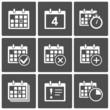 Calendar Icons set - 49602300