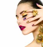 Fototapete Makeup - Makeup - Frau