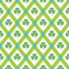 Clover pattern.