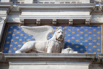 Lion, symbol of  Venice