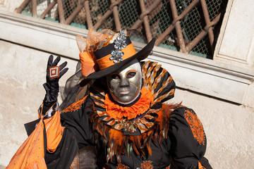 Carnival Mask in Venice, Italy