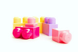 colorful block toy designer