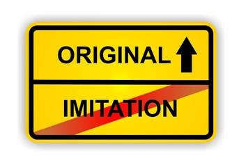 ORIGINAL - IMITATION