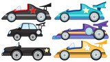 Six different cars