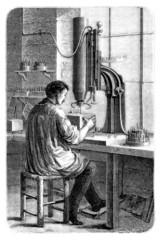 Worker & Machine - 19th century