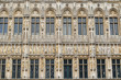 Medieval city hall on Grand Place in Brussels