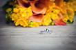 Fototapete Zeremonie - Engagement - Blume