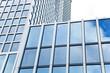 Glasfassade eines modernen Hochhauses - Frankfurt  - Deutschland