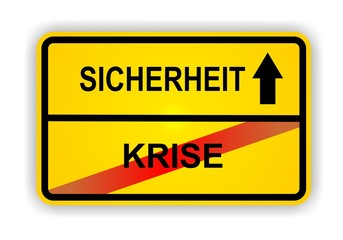 KRISE - SICHERHEIT