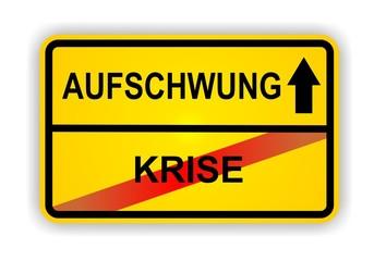 AUFSCHWUNG - KRISE