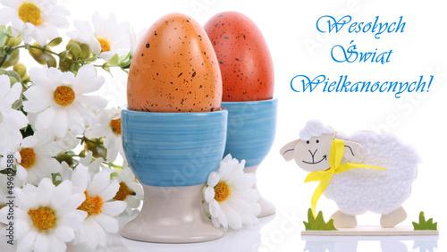 Kartka świąteczna - Wesołych Świąt Wielkanocnych!