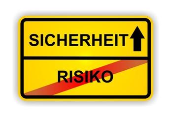 SICHERHEIT - RISIKO
