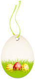 Hangtag Easter Eggs Green/Red/Yellow