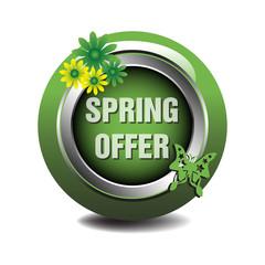 Spring offer symbol