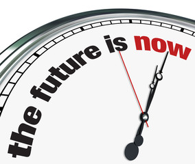 The Future is Now - Ornate Clock