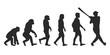 Vom Affen zum Baseball Spieler (Menschen)