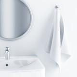 Fototapete Handtuch - Abs - Hygiene