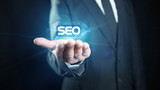 Search Engine Optimization in a hand