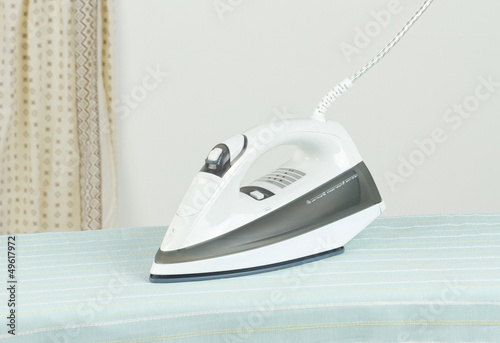 Modern steam iron the new technology for ironing.