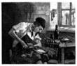 Shoemaker - Cordonnier - Schuster - 19th century