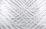 Fototapety fondo abstracto blanco 3d con lineas