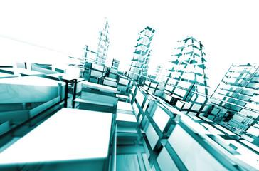 arquitectura abstracta.Concepto de tecnologia y arquitectura