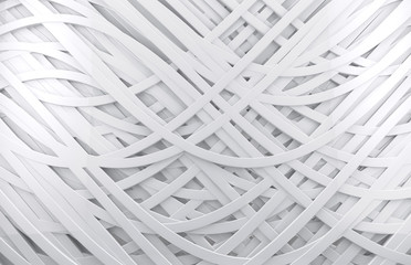 fondo abstracto blanco 3d con lineas