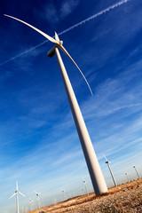 energia renovable,aerogenerador y parque eolico