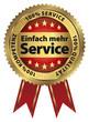 Einfach mehr Service - 100% Service, Qualität, Kompetenz