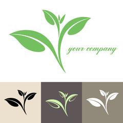 Tea. Logo