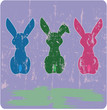 easter illustration,bunny, free copy space
