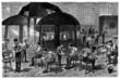 Inside a Glassfactory - Verrerie - 19th century
