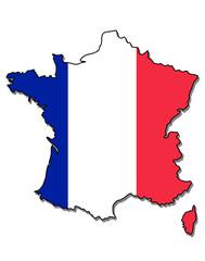 france map flag