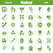 medical icons green reflex