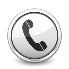 button gray phone