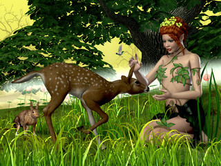 Buttercup Fairy and Forest Friends