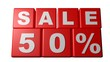 Sale 50% - Half price - Sales - Rebajas - Saldi
