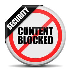 button rund content blocked I