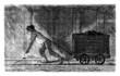 Coal Miner - Mineur de Charbon - 19th century