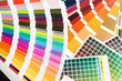 Pantone, cmyk, ral color swatches