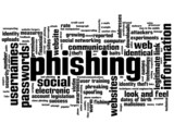 PHISHING Tag Cloud (malware malicious website fraud) poster