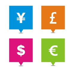 currency square pointers