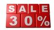 Sale 30% - Sales - Rebajas - Saldi