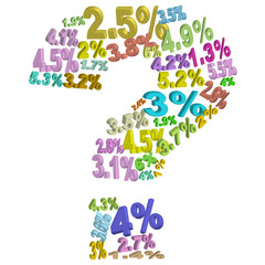 Evolution of credit rate ?
