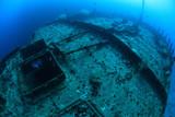 Fototapete Schiff - Unterwasser - Meer / Ozean