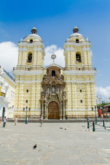 San Francisco church in Lima Peru