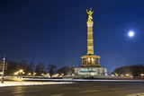 Victory Column at night, Berlin