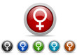 sex vector icon set